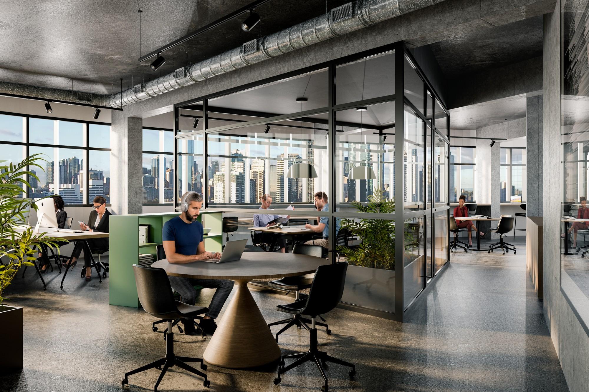 195 Ferrars Street - Office space 1