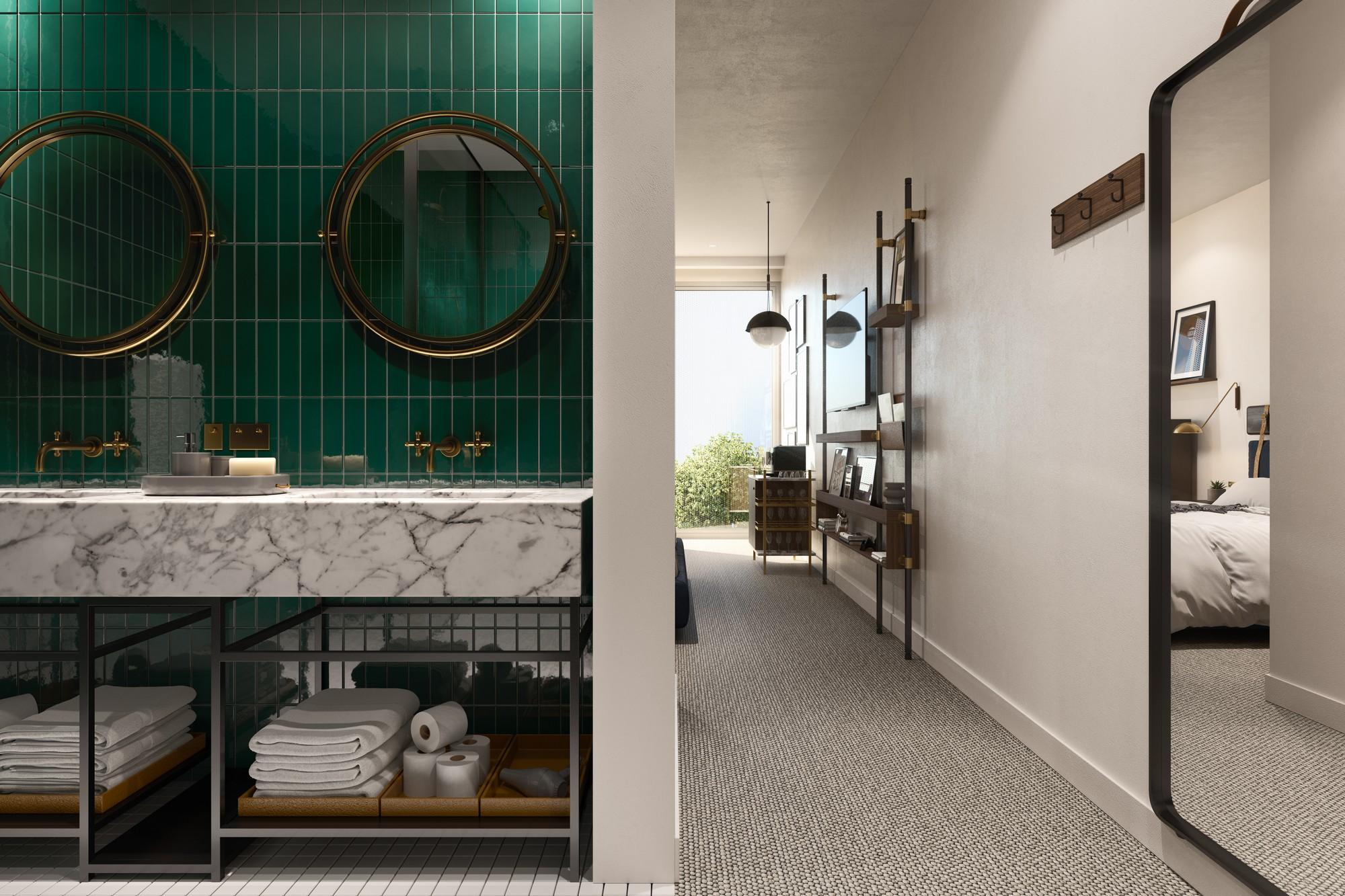 South Melbourne Hotel - Bathroom