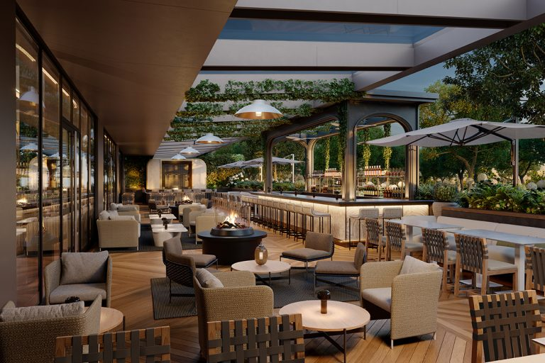 The Ritz-Carlton Toronto - Restaurant Terrace 02